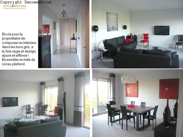 Images tagged appartement contemporain design gris for Appartement design contemporain