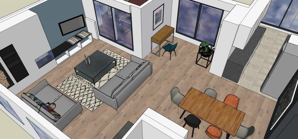 Aménagement d'espaces