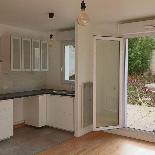 Rénovation appartement 2 pièces cuisine - salle de bain