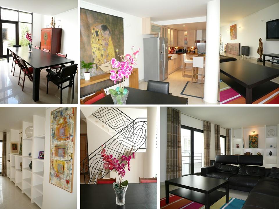 Une maison d'architecte qui danse avec les couleurs