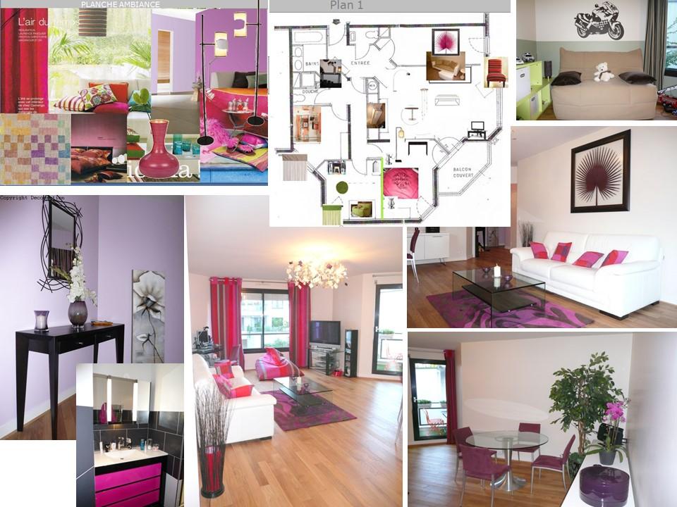 Un appartement ultra féminin