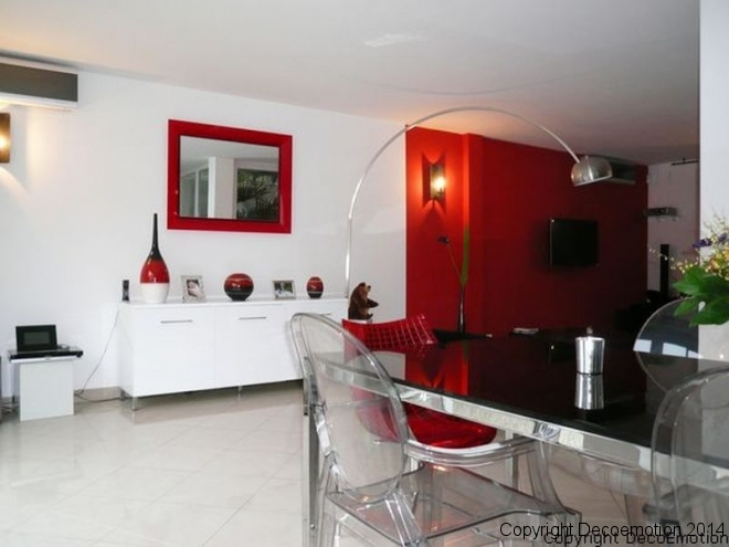 Une maison d'architecte au nouveau design black and red
