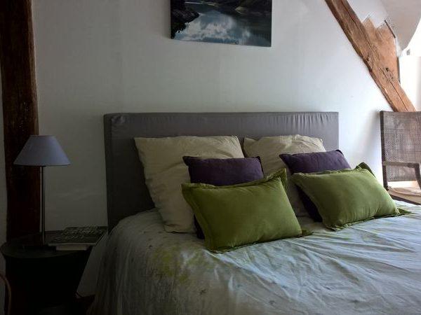 03-chambre amis linge de lit lin