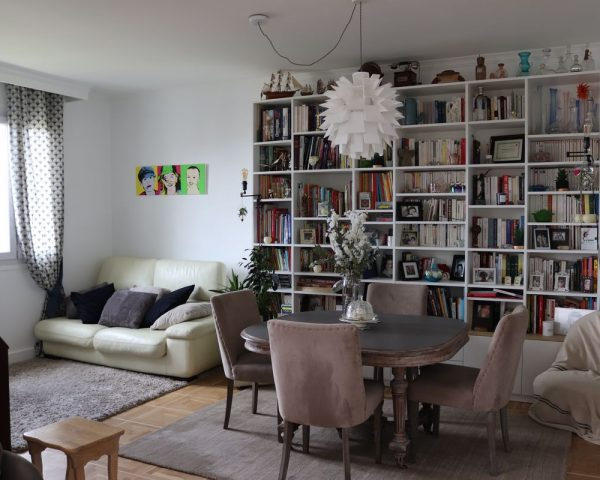 appartement rénové et redecore style maison de famille
