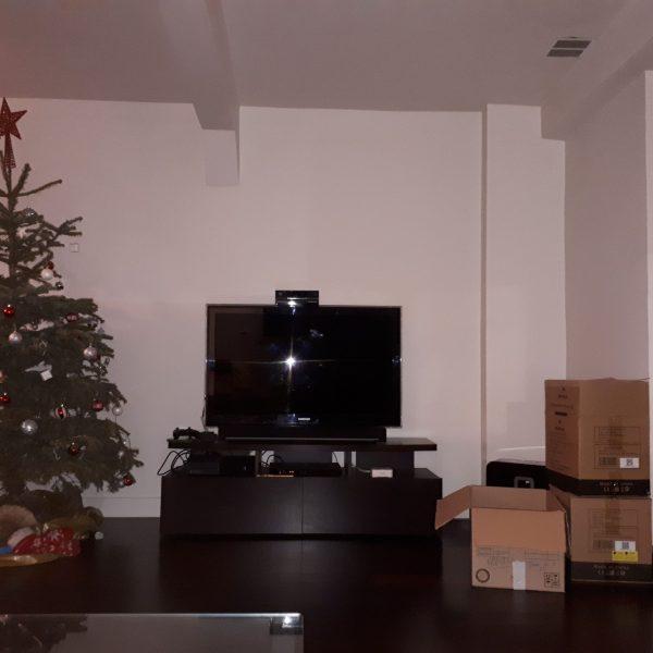 mur TV avant