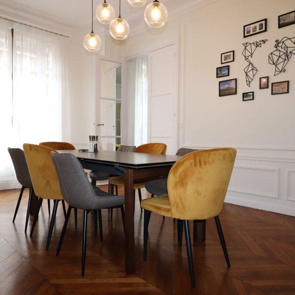 salle a manger appartement haussmannien